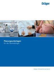 Planungsunterlagen für die Neonatologie