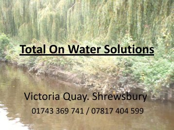 Total On Water Solutions PDF - Sabrina Boat