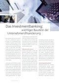 Investmentbanking – für Wachstum und Stabilität - Page 6