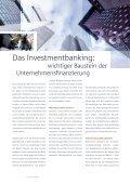 Investmentbanking – für Wachstum und Stabilität - Seite 6
