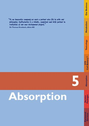 Absorption - GenPharmTox BioTech AG
