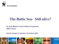 Baltic Sea Info - Anita Maekinen... - Global Compact Nordic Network