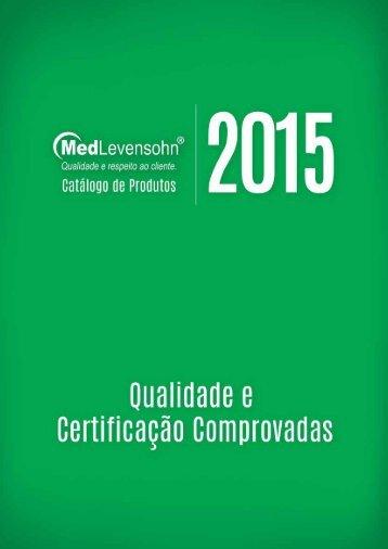 Catálogo de Produtos MedLevenshon 2015