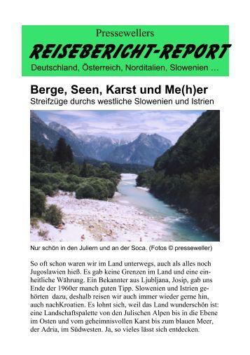 Berge, Seen, Karst und Me(h)er
