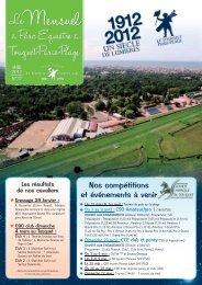 Journal de Mars 2012 - Comité Régional d'Equitation Nord Pas de ...