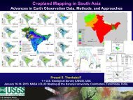 Cropland Mapping in South Asia - NASA Land-Cover / Land-Use ...