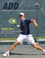 December 2011 - USPTA's ADDvantage Magazine