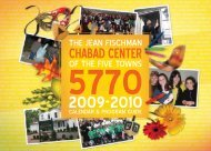 services - Chabad of the Five Towns