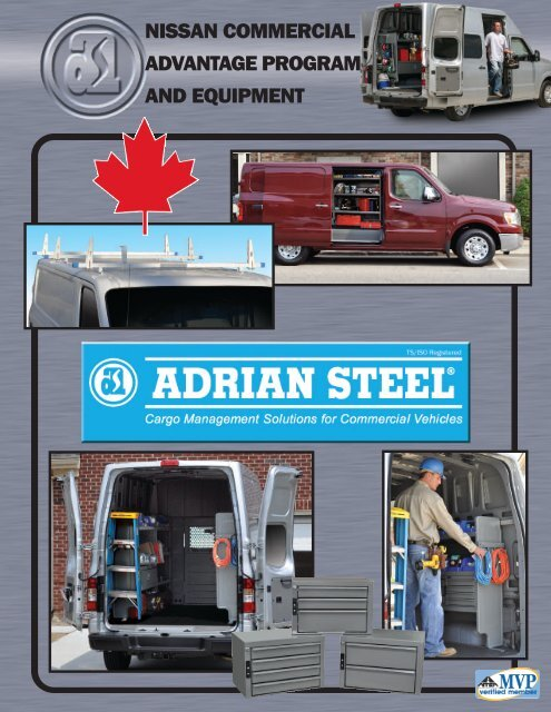 nissan commercial advantage program and equipment - Adrian Steel