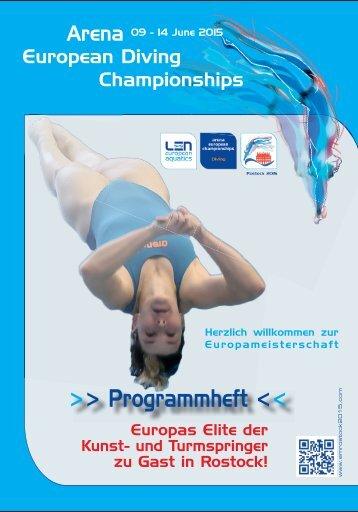 Arena European Diving Championship 2015