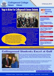 here - Collingwood College
