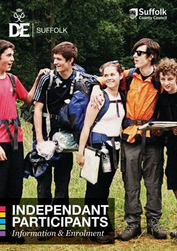 INDEPENDANT PARTICIPANTS - DofE in Suffolk