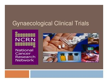 Gynaecological Clinical Trials