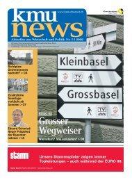 Grosser Wegweiser - KMU-Channel Gewerbeverband Basel-Stadt