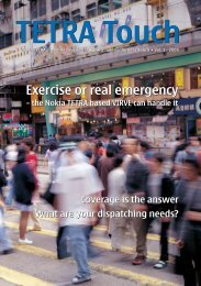 Exercise or real emergency Exercise or real emergency - Nokia