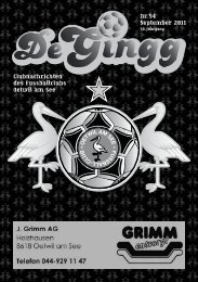 DeGingg Ausgabe 54.pdf - FC Oetwil am See