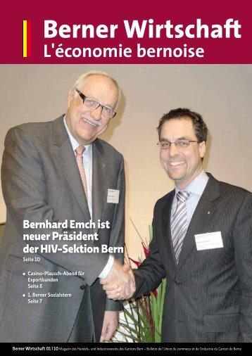 Magazin Berner Wirtschaft 01/2010 - Handels- und Industrieverein ...