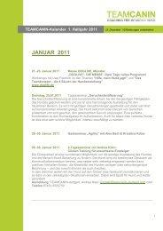 JANUAR 2011 - TeamCanin