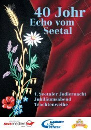 40 Johr - Echo vom Seetal