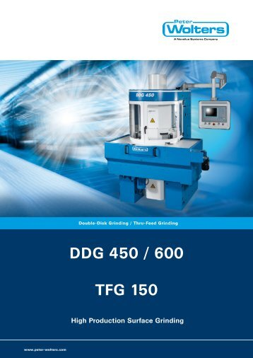 DDG 450 / 600 TFG 150 - Peter Wolters AG