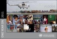 FLOODS - UN Pakistan