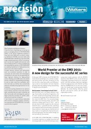 World Premier at the EMO 2011: A new design ... - Peter Wolters AG