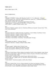 TOBIA RAVÀ SOLO EXHIBITIONS 2010 - Etgallery.co.il   Ermanno ...