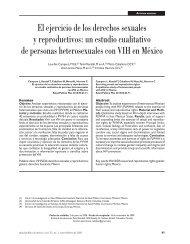El ejercicio de los derechos sexuales y reproductivos: un estudio ...