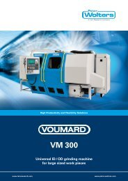 voumard vm 300 - Peter Wolters AG