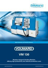 voumard vm 130 - Peter Wolters AG