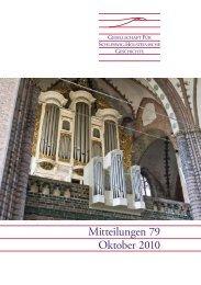 Mitteilungen 79 - Geschichte in Schleswig-Holstein