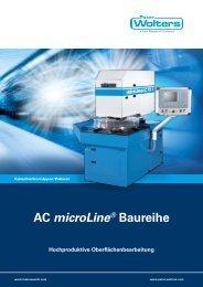 AC microLine® Baureihe Hochproduktive ... - Peter Wolters AG