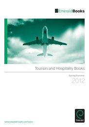 Tourism and Hospitality Books