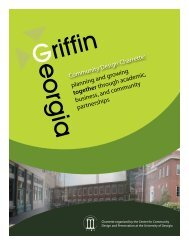 Griffin - College of Environment and Design - University of Georgia