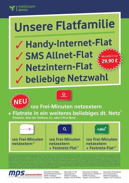120 Frei-Minuten netzextern + Festnetz-Flat 120 Frei ... - Secomtec