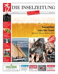 Die Inselzeitung Mallorca Juni 2015