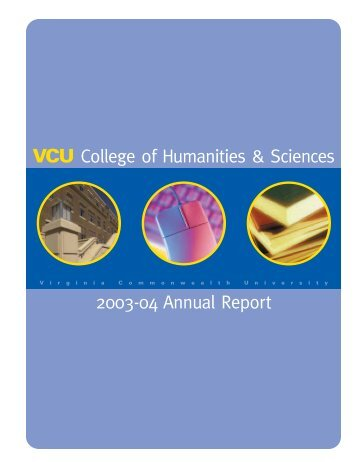 annual report - College of Humanities and Sciences - Virginia ...