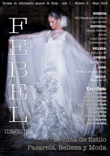 F E B E L Magazine Mayo 2015