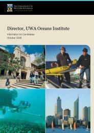 Director, UWA Oceans Institute - His.admin.uwa.edu.au - The ...