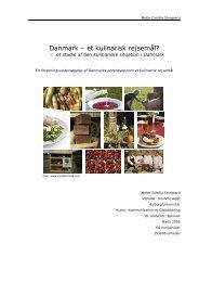 Kulinarisk turisme - Aalborg Universitet