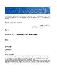 2011 Food Service - Hotel Restaurant Institutional ... - Globaltrade.net