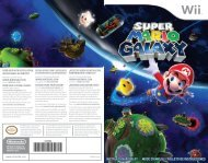 www.nintendo.com INSTRUCTION BOOKLET FOLLETO DE ...