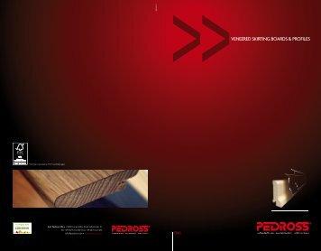 VENEERED SKIRTING BOARDS & PROFILES - Decospan