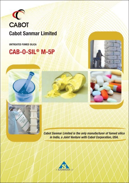 CAB-O-SIL® M-5P - The Sanmar Group