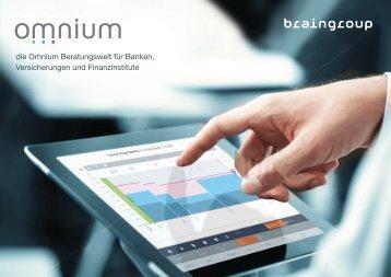 die Omnium Beratungswelt für Banken, Versicherungen und Finanzinstitute