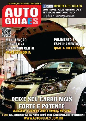 Revista Auto Guia ES 2ª Edição