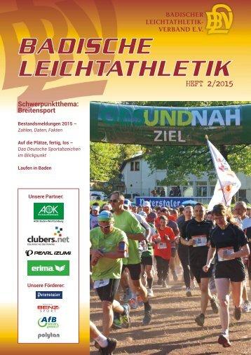 Badische Leichtathletik - HEFT 2/2015