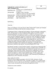 EMBARGOS À EXECUÇÃO FISCAL Nº 2005.72.00.000152-5/SC ...