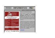 Programa de Capacitação Museológica Seguem abertas as ... - FCC