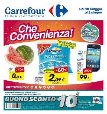 290515 - CARREFOUR SanSperate - Che convenienza